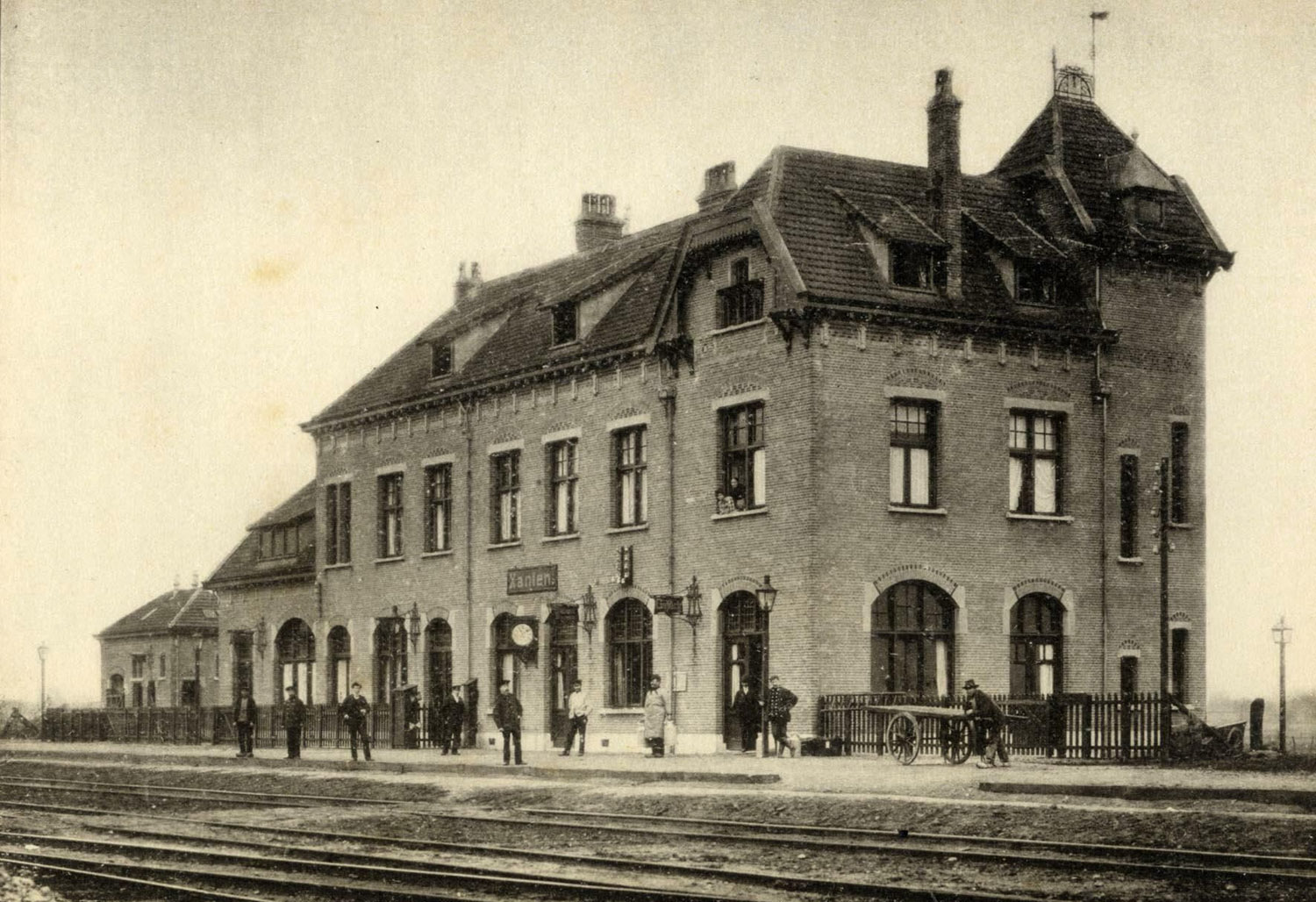 Station Xanten perrongevel